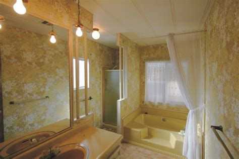 Mobile Home Bathrooms by Retro Mobile Home Bathroom Manufactured Mobile Homes