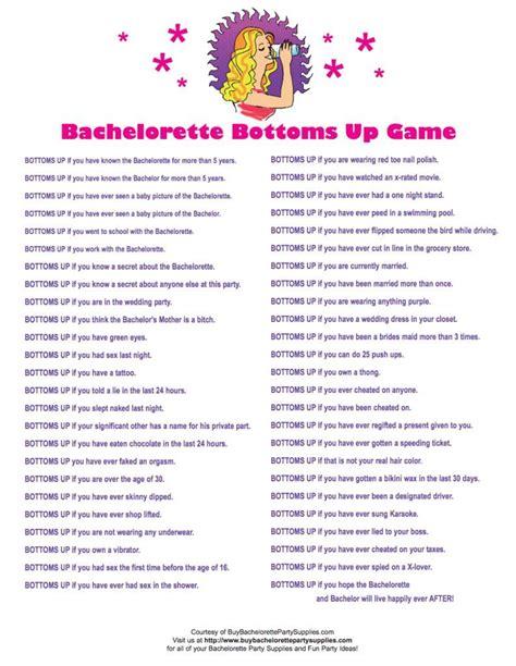 Printable Bachelorette