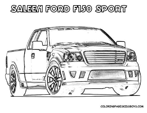 ford trucks coloring page ford coloring pages