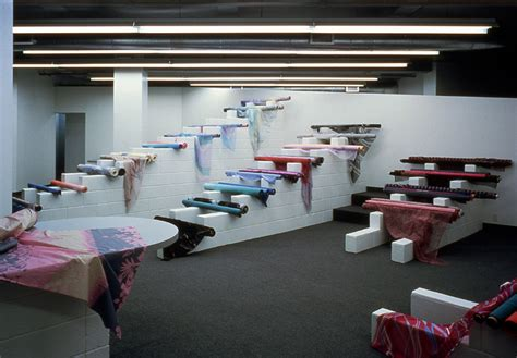 Interiors And Textiles by Kaldor Haigh Architects Textile Showroom