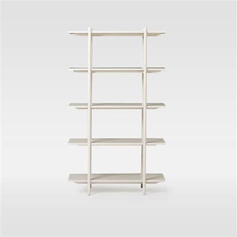 scaffold bookshelf west elm