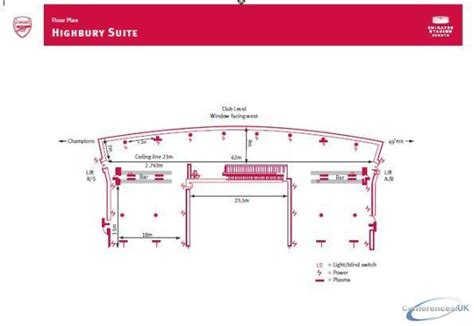 Emirates Stadium Floor Plan Conference Venues And Meeting Rooms Venue Finding Uk