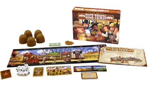 Dice Town dice town board asmodee editions gateplay