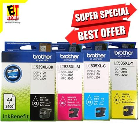 Brother Dcp J100 Ink Reset | brother ink cartridge lc 535xl dcp j end 9 12 2018 9 15 pm