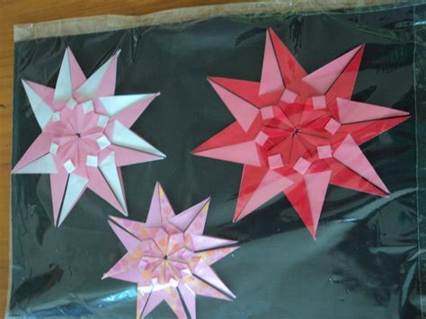 tanabata origami orikami papeis dobrados mandala tanabata passo a passo