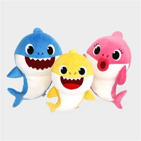 baby shark reggae pinkfong shark family sound dolls mom dad baby 3 songs