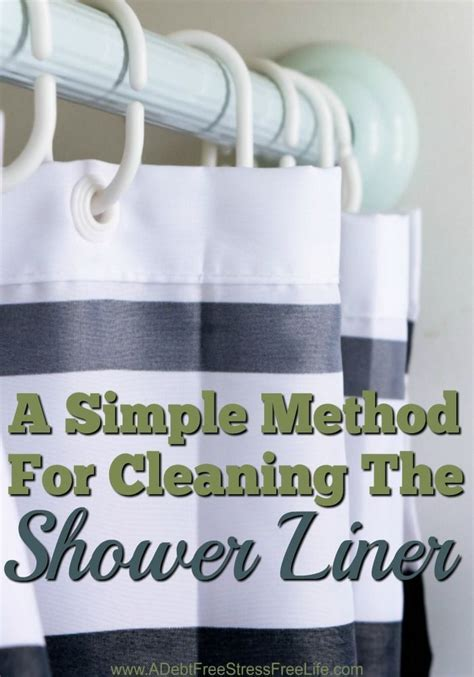 how to wake up to a clean home a simple method for cleaning the shower liner shower