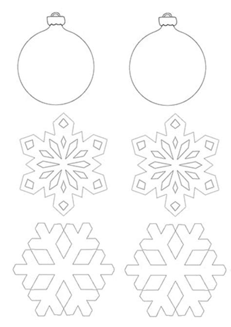print out decorations make decorations tree farm