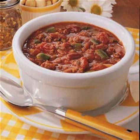 spicy chili recipe taste of home