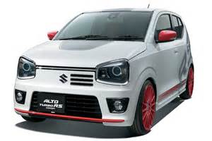 alto car new model japanese suzuki alto 2015 images and details turbo rs