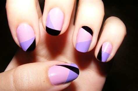 Easy Nail Paint Designs by 30 Cool Nail Painting Designs That You Will Sheideas