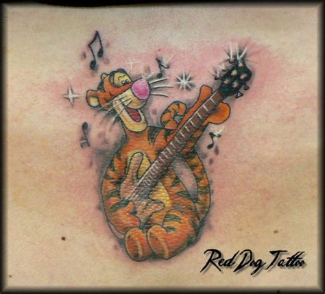 tigger tattoo tigger by reddogtattoo on deviantart