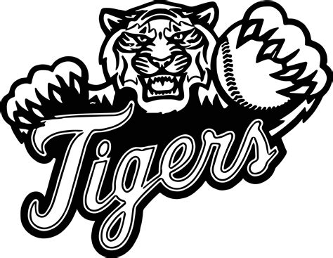 detroit tigers coloring pages bing images