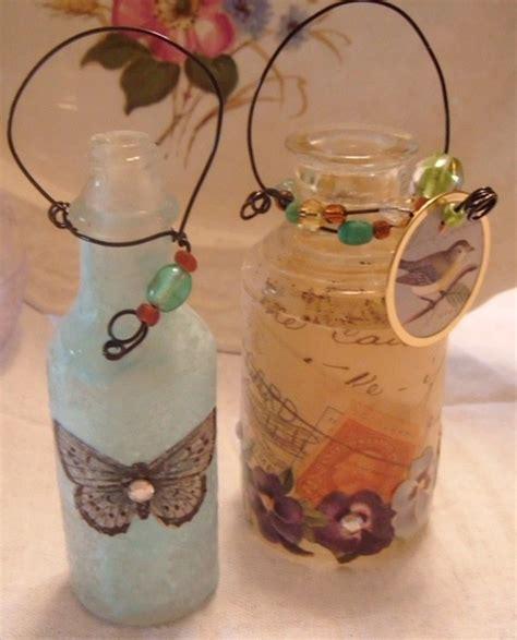 Decoupage Candle Jars - decoupage decoupage crafts diy https apps