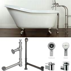 how to install bathtub plumbing plumbing how to drain a free standing bathtub home