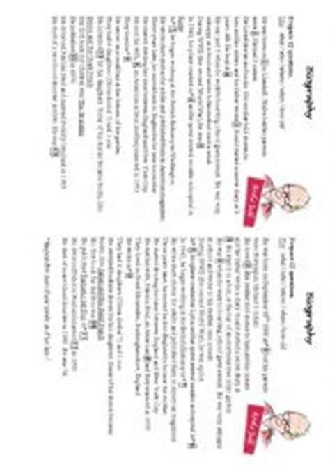 roald dahl biography lesson plan english worksheets roald dahl 180 s biography