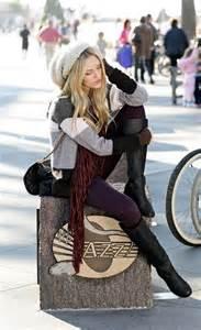 Tips on doing boho winter style aelida