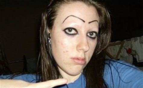Bad Eyebrows Meme - 20 terrible eyebrow fails smosh