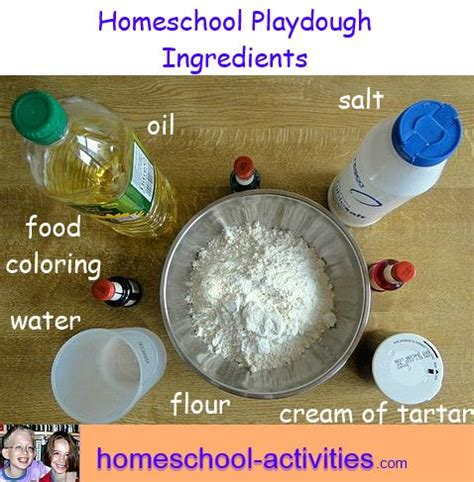 play dough recipe toddler crafts