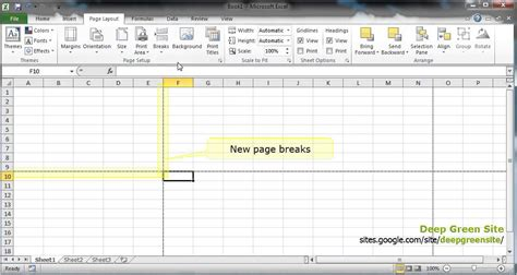 excel page layout problems how to set up page breaks in excel 2013 how to print