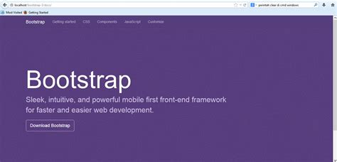 tutorial install bootstrap my blog tutorial install compile bootstrap 3 di localhost