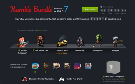 humble bundle android 187 humble bundle with android 7 des jeux ind 233 pendants
