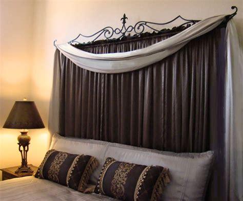 how to hang a curtain on a metal door best 20 curtain headboards ideas on pinterest curtain