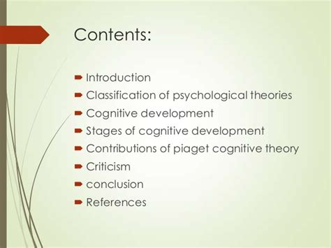 three contributions to the theory of books jean piaget theory parag