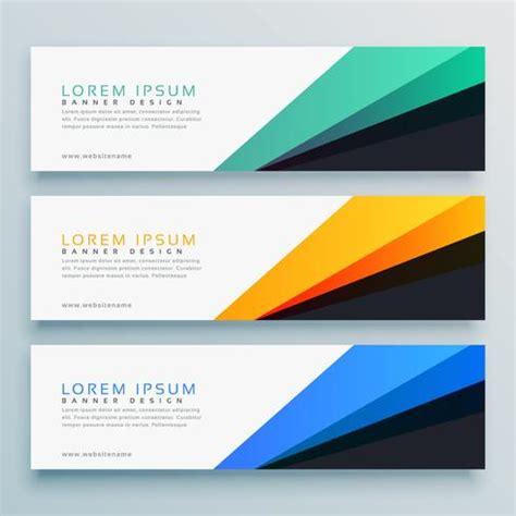 header login design elegant set of thre headers vector design download free
