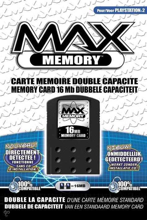 Mc Ps2 16mb Memory Card Ps2 16mb bol datel max memory card 16 mb ps2 playstation 2 datel