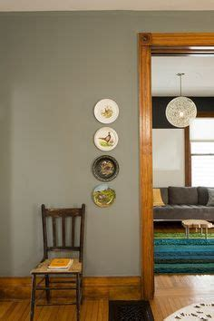 paint colours    natural wood trim living room