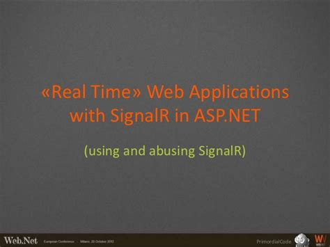 real time web application development with asp net signalr docker and azure books 171 real time 187 web applications with signalr in asp net