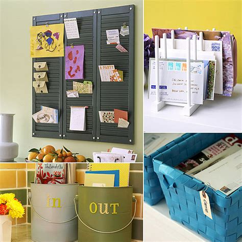 organize ideas mail organization ideas popsugar smart living