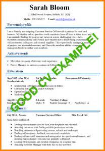 9 example of a good cv bookkeeping resume
