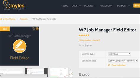 free wordpress layout editor wp job manager field editor v1 3 0 24x7themes best
