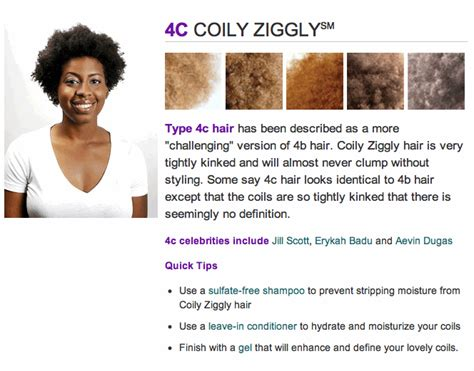 Hair Products For Type 4c Hair how to determine hair type on hair