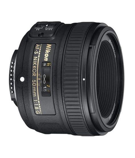 Lensa Nikon Af S 50mm F 1 8g Nikkor Fx nikon af s nikkor 50mm f 1 8g lens price in india buy nikon af s nikkor 50mm f 1 8g lens