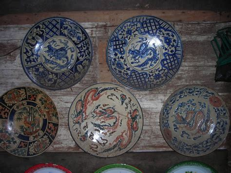 Guci Antik China Biru barang antik khodam chinness antique