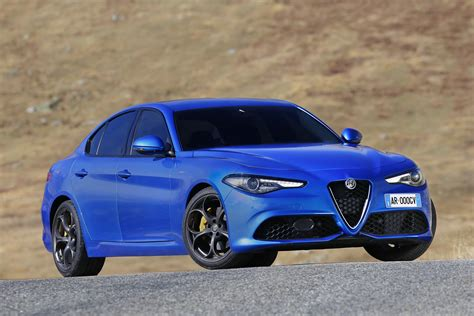 alfa romeo giulia veloce arrives in uk carbuyer