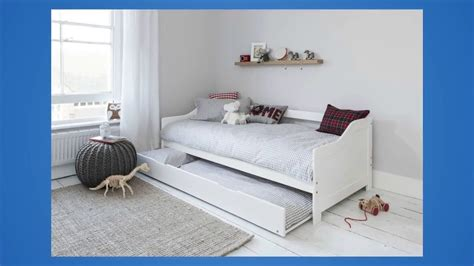 2 beds in 1 best review of day bed single bed with underbed in white 2