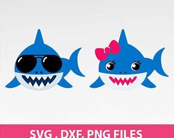 baby shark free vector shark svg etsy