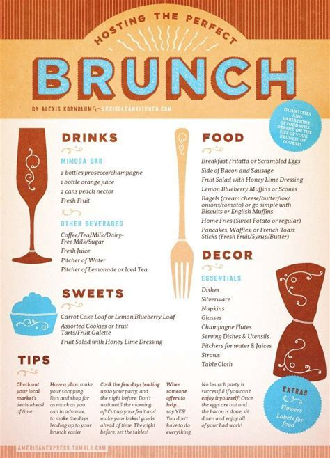 Hosting The Perfect Brunch   Brunch Ideas