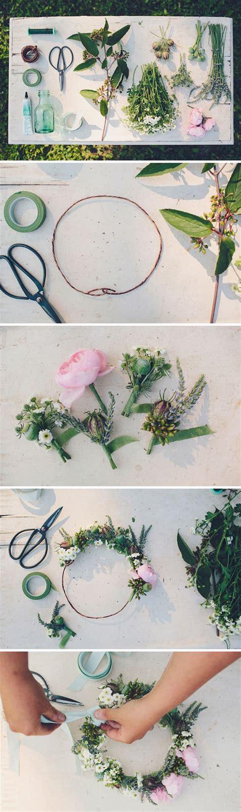 floral crown diy walk in love diy craft s
