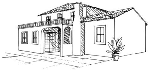 desenhar casas aprenda a desenhar