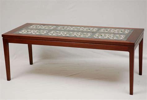 Tiled Coffee Table Tile Top Coffee Table At 1stdibs