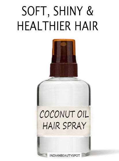 does coconut oil damage a perm coconut hair spray for dry frizzy and damaged hair