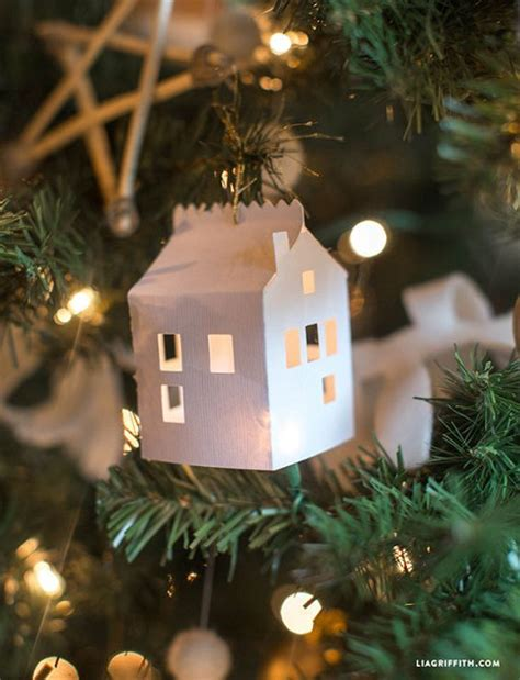 Creative Handmade Ls - diy paper house ornament easy and unique diy