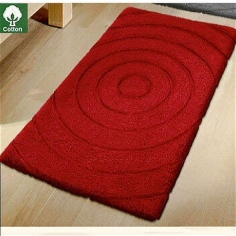 Travel Cotton Bath Rugs From Vita Futura Contemporary Modern Bathroom Rug