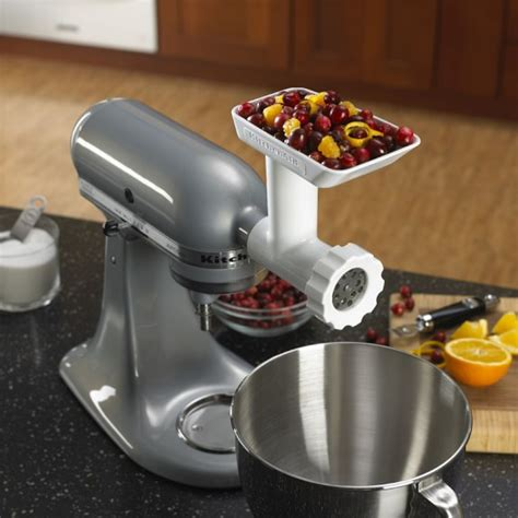 Kitchenaid 174 Stand Mixer Food Grinder Attachment Williams Kitchen Aid Grinder Attachment