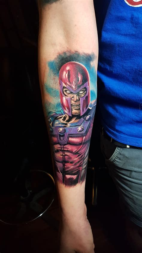 magneto tattoo my new magneto marvel